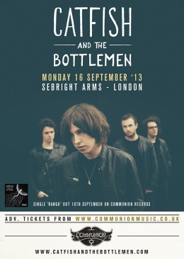Catfish and The Bottlemen announce headline London show in September