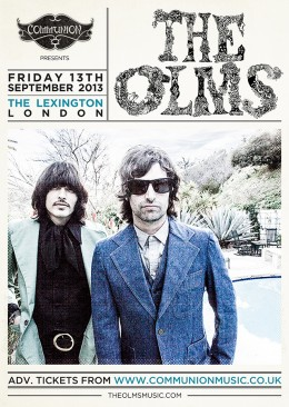 The Olms announce headline London show