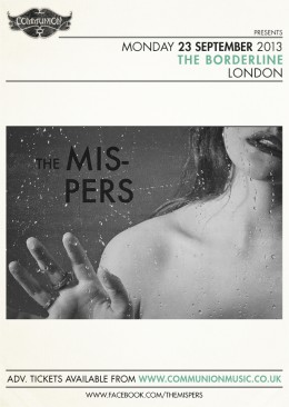 The Mispers announce headline show at The Borderline