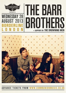 The Barr Brothers announce London August date at The Borderline