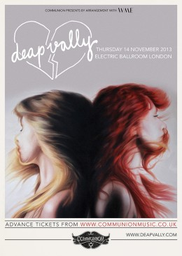 Deap Vally return to London in November