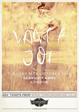 Vance Joy announces UK Tour