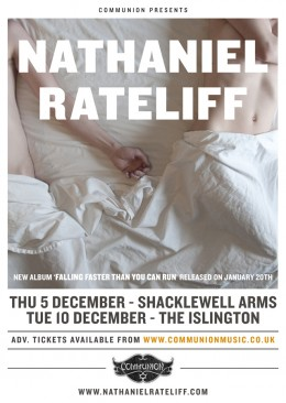 Nathaniel Rateliff to play two headline London shows