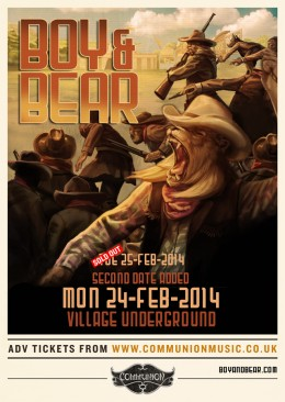 boybear-villageunderground-feb14-newdate2
