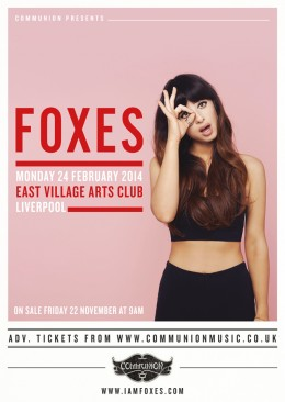 Foxes announce Liverpool show