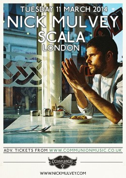 Nick Mulvey to headline Scala