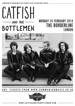 Catfish and the Bottlemen Borderline London Gig Poster