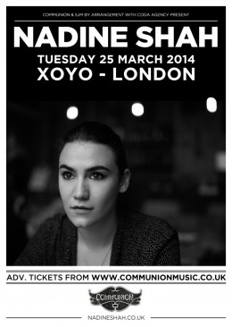 Nadine Shah London Headline Show