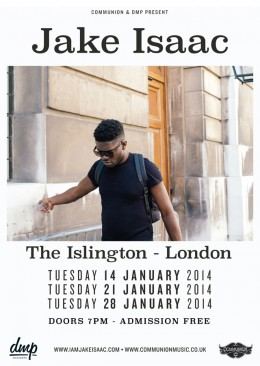 Jake Isaac live at the Islington in January 2014