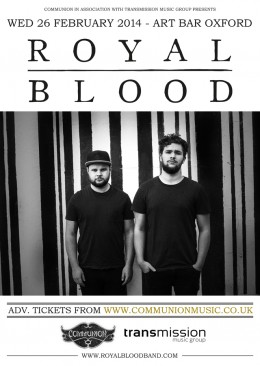 Royal Blood to play The Art Bar
