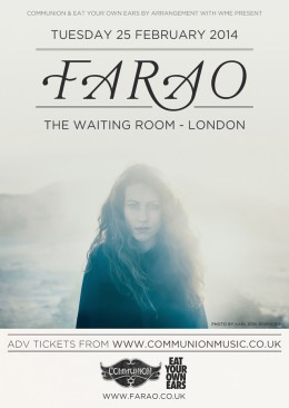 Farao headline London show