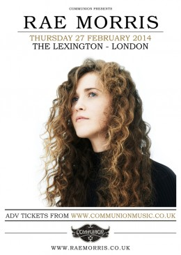 Rae Morris headline London show