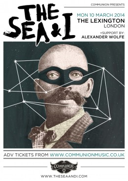 The Sea and I Gig Poster