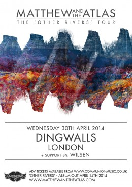 Matthew and the Atlas Dingwalls Gig Poster