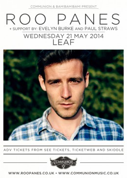Roo Panes Leaf May 2014 Support