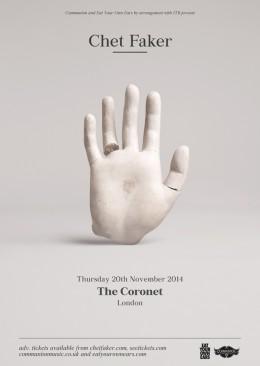 Chet Faker Coronet November 2014