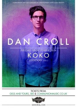 Dan Croll Koko October 2014