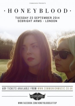Honeyblood Sebright Arms September 2014