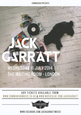Jack Garratt Waiting Room July 2014