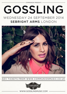 Gossling Sebright Arms September 2014