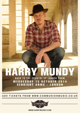 Harry Mundy Sebright Arms October 2014