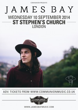 James Bay St Stephens September 2014