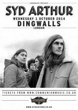 Syd Arthur Dingwalls October 2014