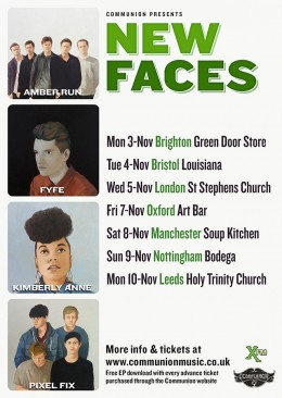 New Faces Tour November 2014
