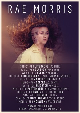 Rae Morris UK TOUR February 2015 v4 Web