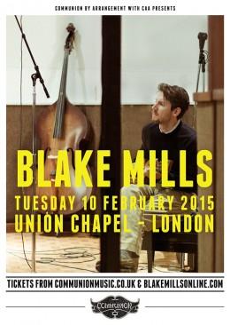 Blake Mills Gig Poster