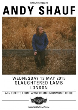 Andy Shauf Slaughtered Lamb May 2015 v2 Web