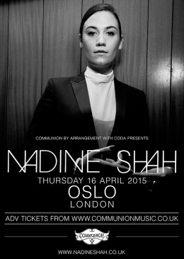 Nadine Shah Oslo April 2015 v1 Web