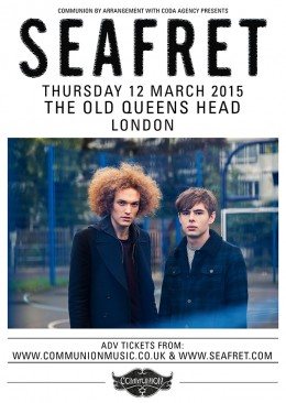 Seafret Old Queens Head March 2015 v2 Web
