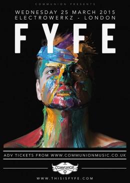 Fyfe Gig Poster