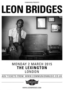 Leon Bridges Lexington March 2015 v1 Web